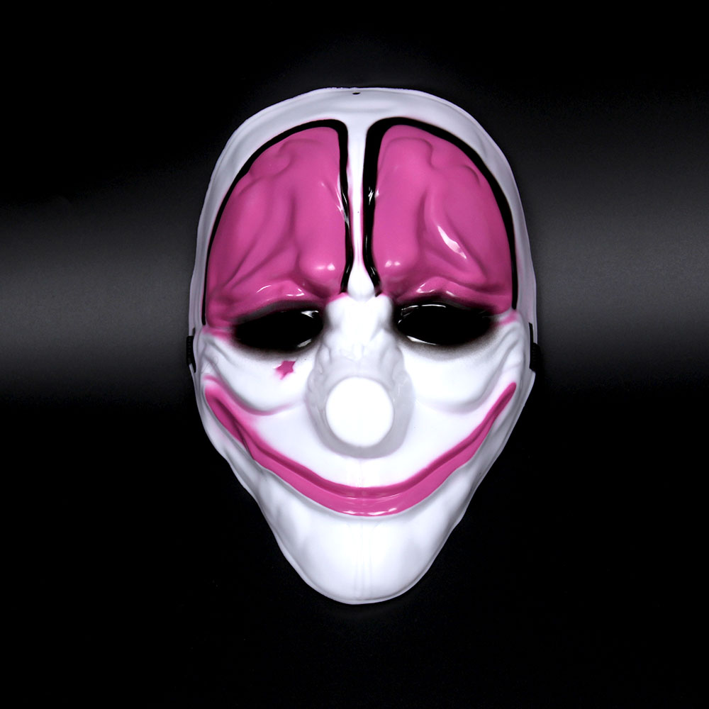 Payday mask halloween mask scary terror masquerade houston - Mascara de terror ...