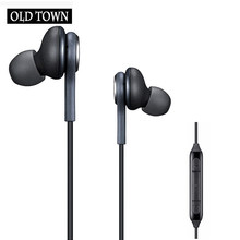 No Bluetooth Earphone Headphones Phone Sport Headset In Ear Buds Wired Mini Earphones Headphone Earpiece for IPhone X 7 8(China)