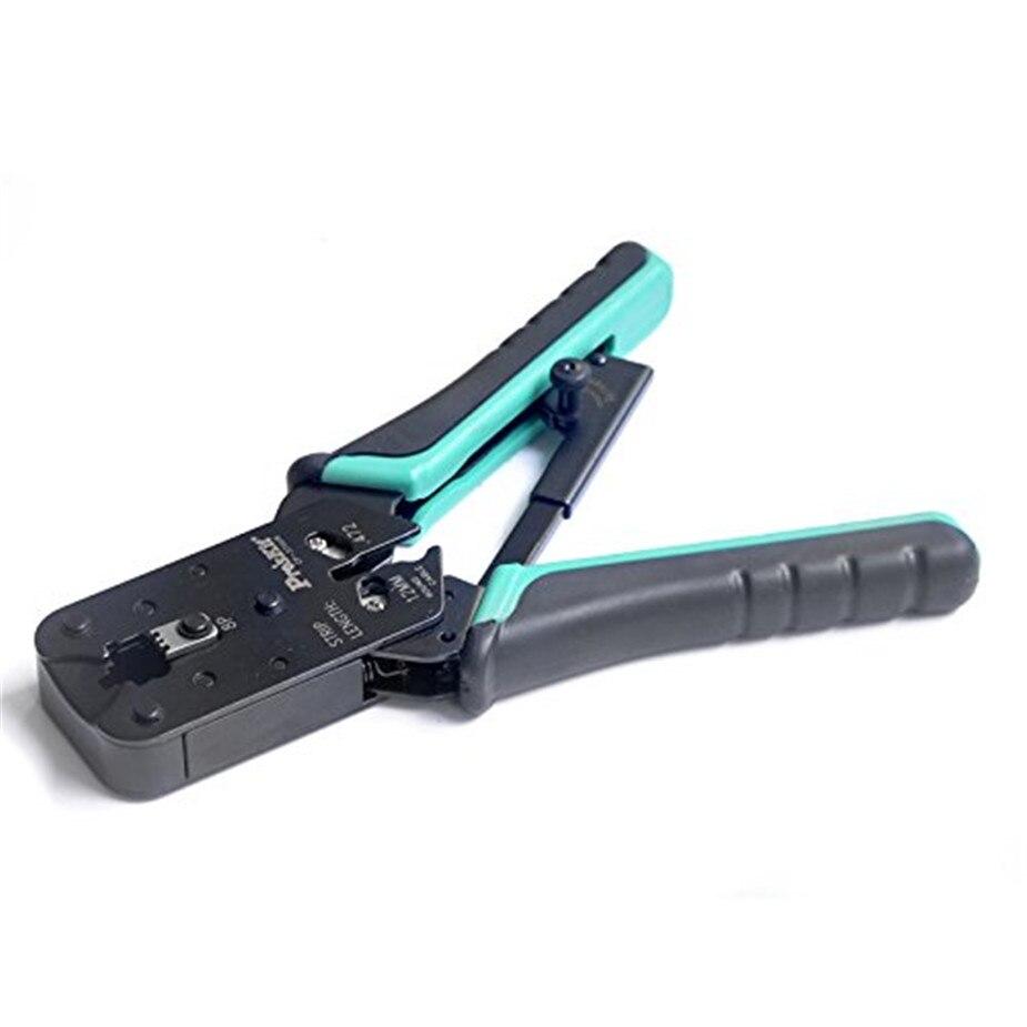 Hot livraison gratuite ajustabie de Cp-376ur, pince de réseau 8 P pince à sertir écrou pour outils de sertissage d'extension de cheveux