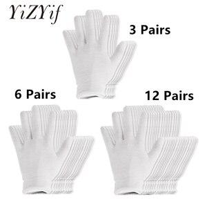 Reusable White Cotton Gloves T