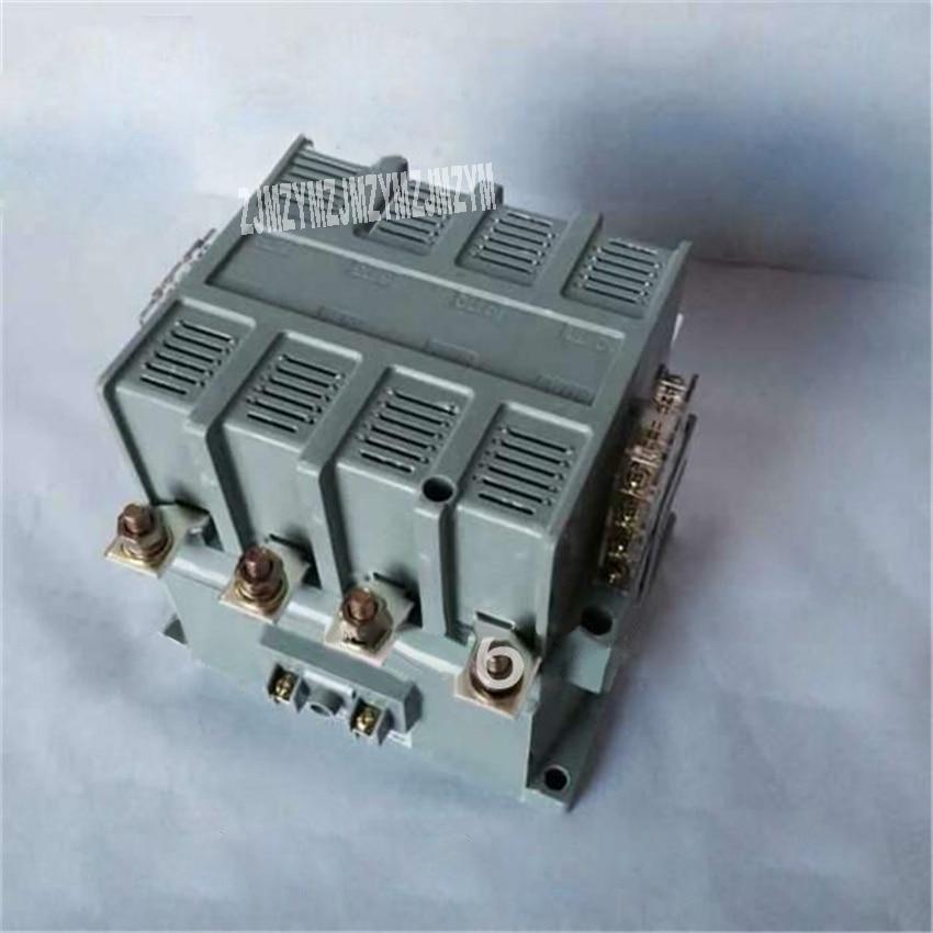 Promotion! High quality 4 Poles CJ40 125A Household ac Modular 4P 125A AC Contactor Coil AC110V/220V/380V 50/60HZ Hot Selling