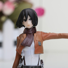 Attack On Titan Ackerman PVC Action Figure Toy Doll 14cm