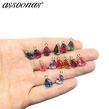 Assoonas m299, acessórios para joias, achados de joias, acessórios, artesanais, pedra natural, fazer joias, brincos findinds,diy
