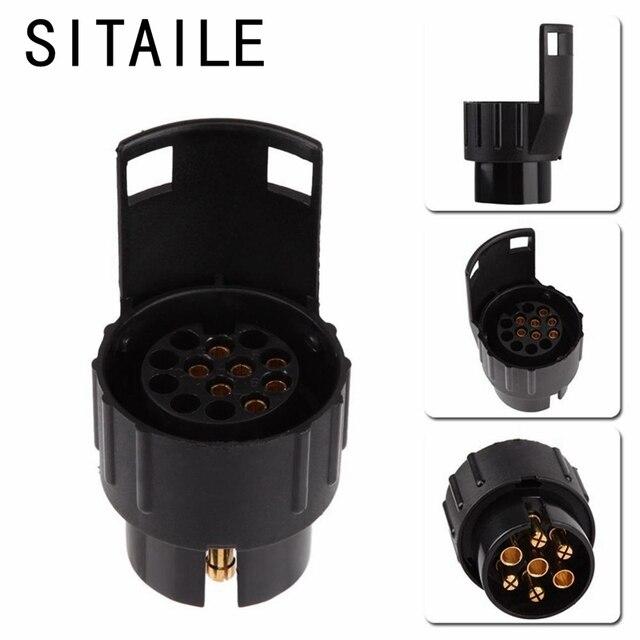 SITAILE 12 V 7 Bis 13 Pins Stecker Adapter Elektrische Converter Lkw ...