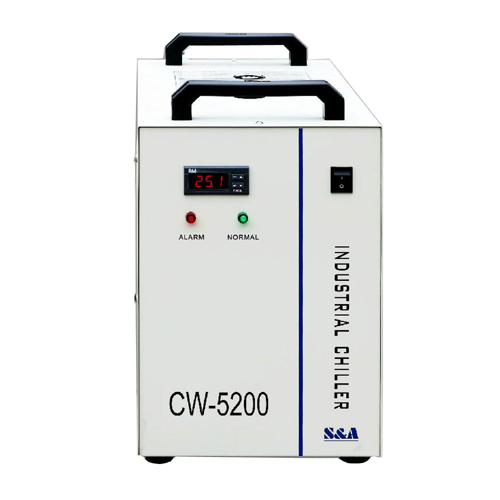 Industrial Water Chiller CW 5200 For laser cutting  engraving Machines CW5200 water chiller for 130w laser tube