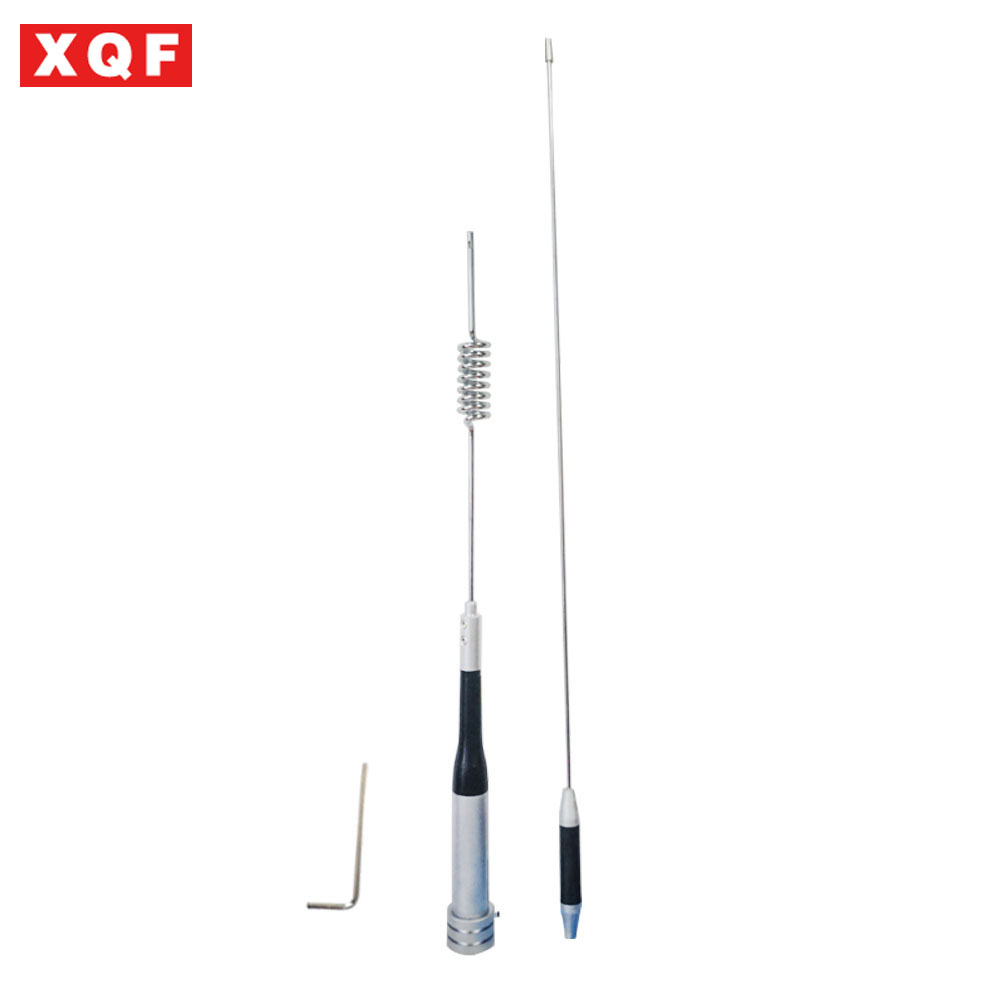 XQF UV Dual Band 144Mhz 430Mhz Mobile Radio Antenna Diamond Antenna SG-M507 High Gain Antenna For Walkie Talkie Car Radio
