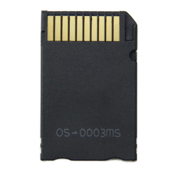 Micro SD to Memory Stick Pro Duo Card Reader for MS Pro Duo Card Adapter Single Slot TF Memory SD Card Converter