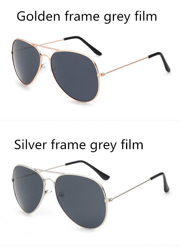 ASUOP2017 new men and women sunglasses pilots glasses high-end brand popular sun glasses goggles UV400 sunglasses sunglasses (11)