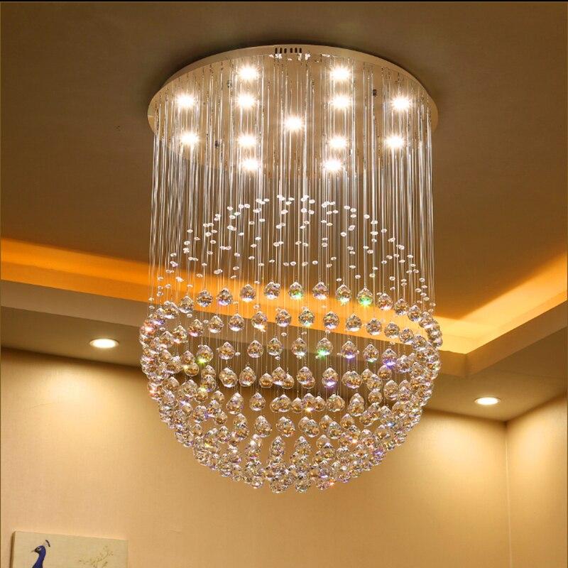 LED բյուրեղապակի ջահի լամպերի սենյակ - Ներքին լուսավորություն
