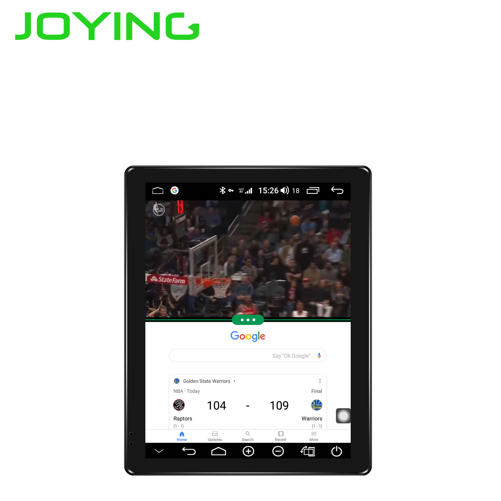 JOYING 9 7 inch IPS Screen 1024 768 one din Android 8 1 Car radio 4GB
