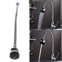 Küche Bar Wasserhahn Schlauch Doppel Loch Wasser Zink-legierung Ersatz Tap 48cm Für Wasser Behandlung