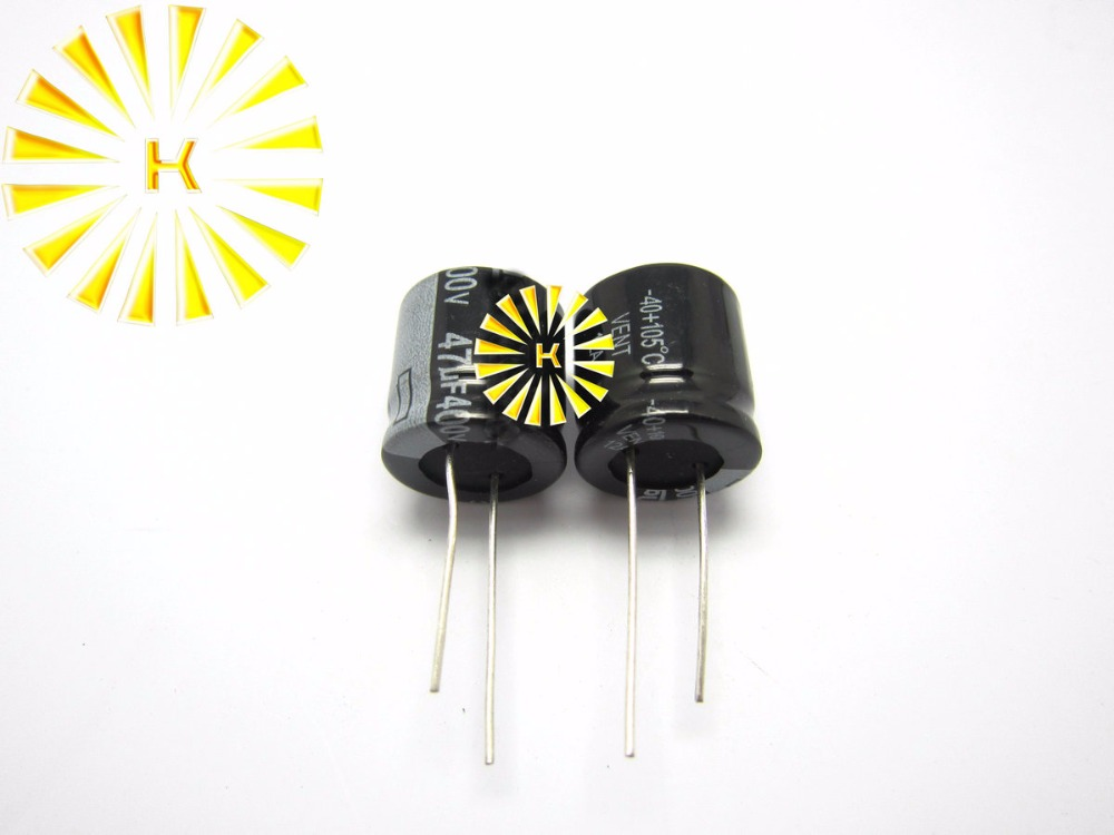63V 470uF Radial Electrolytic Capacitors 105°C 13x21mm Tolerance ±20/% Pitch 5mm