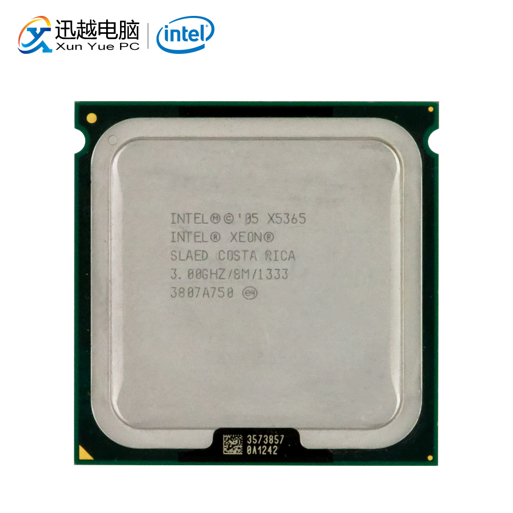 Intel Xeon Qual-Core X5365 Desktop Processor 3.0GHz 8MB FSB 1333 LGA 771 5365 Server Used CPU