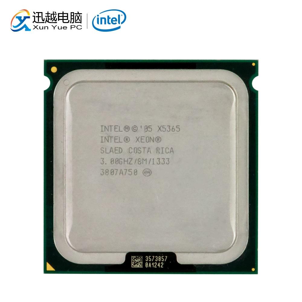 Intel Xeon Processador para Desktop 3.0 GHz Qual-Core X5365 8 MB FSB LGA 1333 771 5365 Servidor CPU Usado