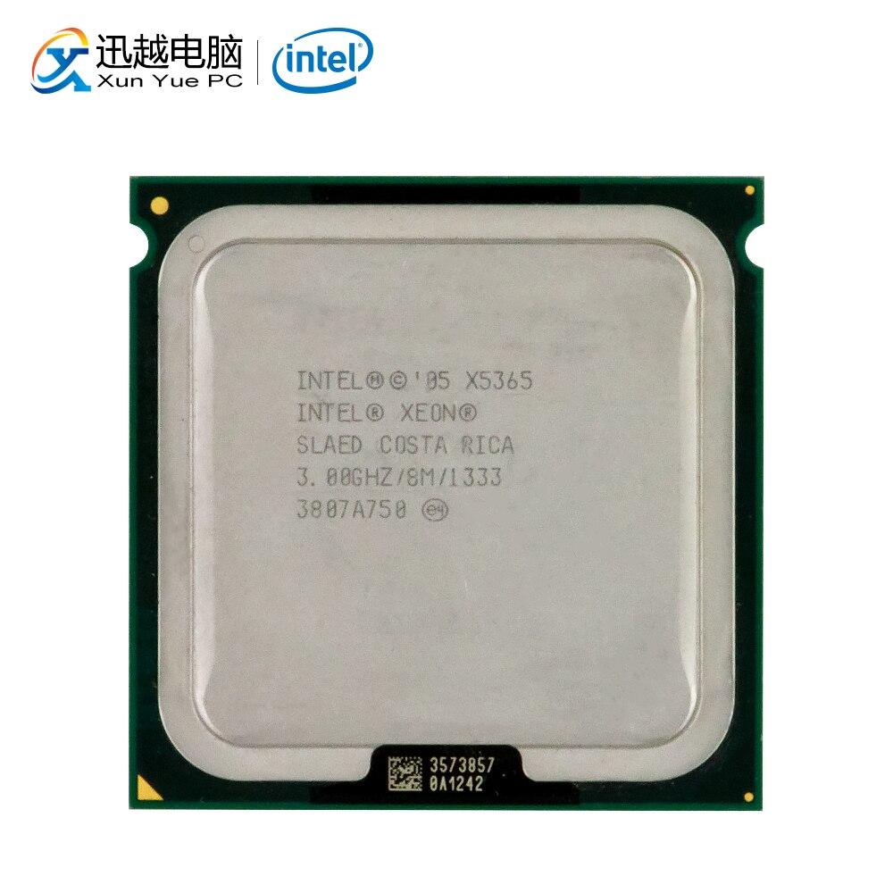 Intel Xeon Qual-Core X5365 Desktop Processor 3.0GHz 8MB FSB 1333 LGA 771 5365 Server Used CPU