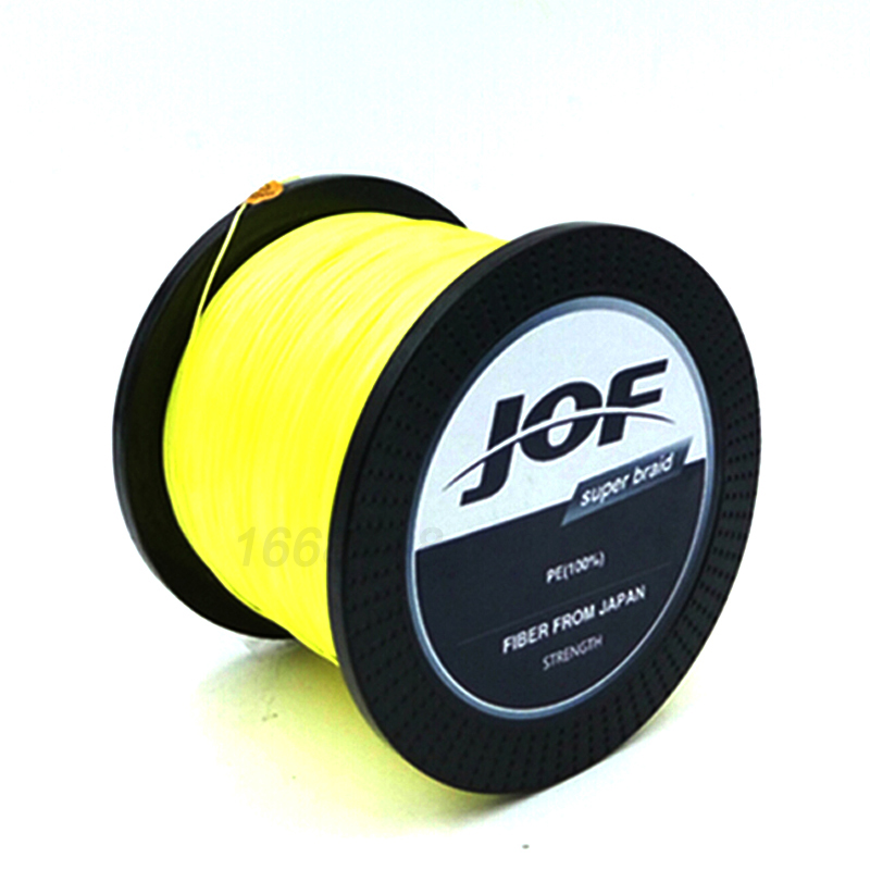 JOF 8 STRANDS Weaves 500M Extrem Strong Japan Multifilament PE 8 - Fiskeri - Foto 4