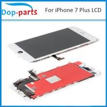 10 יחידות AAA       איכות עבור iPhone 7 בתוספת lcd עצרת Digitizer זכוכית מסך מגע LCD תצוגת LCD חלקי חילוף תוצרת סין