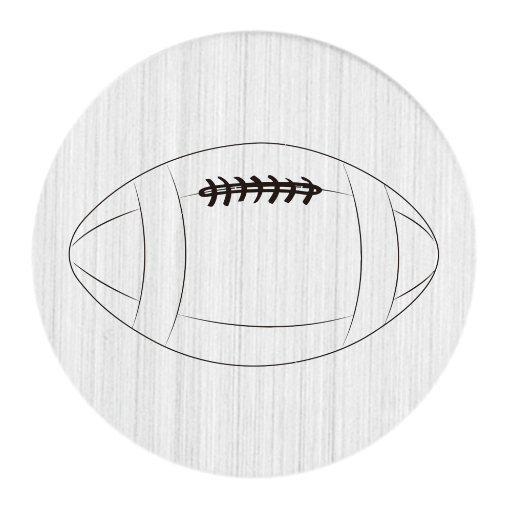 Football Basketball Floating Locket Plate NCAA Sports 22mm Stainless Steel Locket Plates Fit 30mm Floating Lockets 10pcs/lot ...