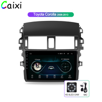 Car Android 8.1 Multimedia Player For Toyota Corolla E140/150 2008 2009 2010 2011 2012 2013 Car Audio Radio Stereo Backup