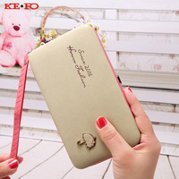 For Samsung Galaxy S3 S4 S5 S6 S7 S6 Edge Plus Wallet Case Luxury Women Wallet