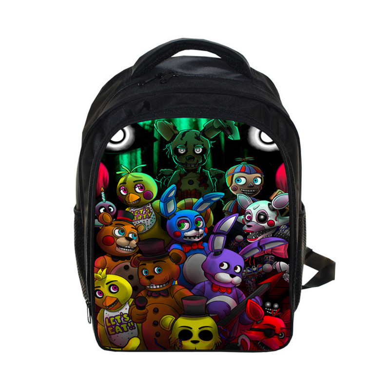 Five Nights at Freddy backpack 13 inch children school bags Freddy small mini backpacks Five Nights