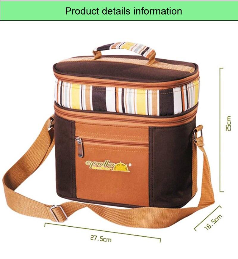 Multifunction bag refrigerator portable cutlery bag -7