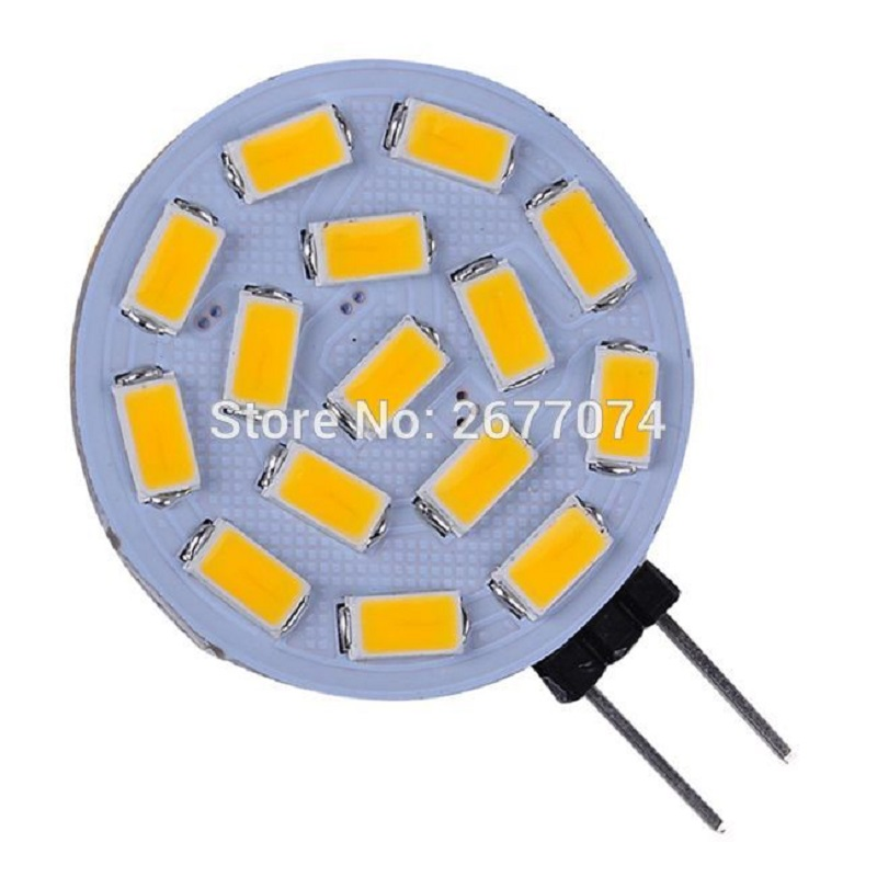 3W G4 15 LED SMD5730 300LM Warm White Or White Desk Lamp Wall Lamp Night Light Decorative DC12V LED Bi-pin Lights Dropship