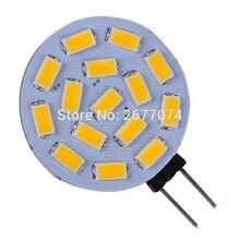 3W G4 15 LED SMD5730 300LM Warm White or White Desk lamp Wall lamp Night light Decorative DC12V LED Bi-pin Lights dropship