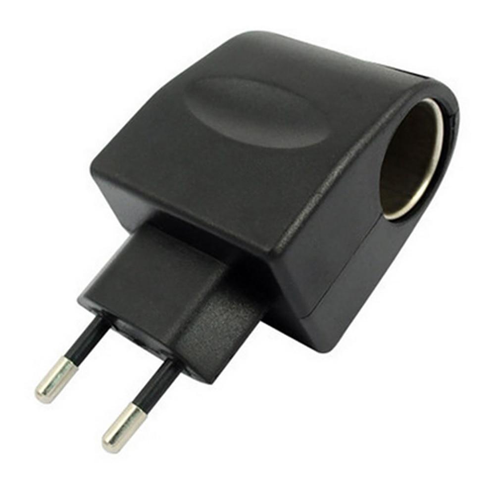Автомобильный прикуриватель розетка переменного тока 220 В к DC 12 В ЕС Автомобильный прикуриватель адаптер питания конвертер бытовой многофу...
