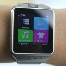 """10 teile/los Smart Bluetooth Uhr GV08 1,54 """"1,3 Mt kamera TF und SIM einbauschlitz Schrittzähler Smartwatch für iphone 4/4 S/5/5 S/5C/6"""