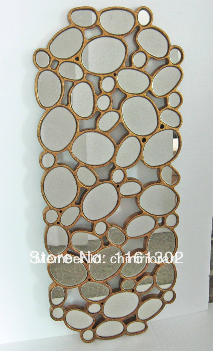 Wood Framed Wall Mirrors wall mirror frames promotion-shop for promotional wall mirror