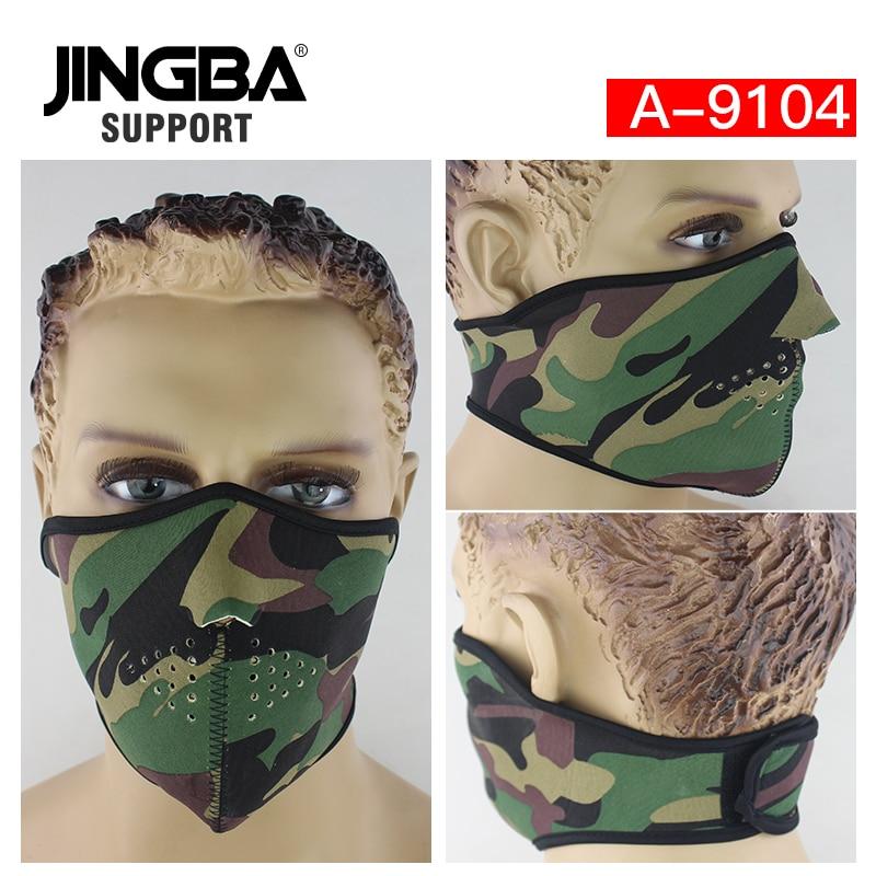 JINGBA SUPPORT Halloween Skull Cool mask Neoprene Outdoor sport half face mask riding bike ski mask Manufacturer Dropshipping