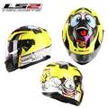 100% Genuine Famous Brand Ls2 Top Quality Full Face Moto Helmet Casco Double Lens Racing Capacete Mens Helmet ff328