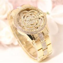 New 2017 Fashion Casual Clock Silver Bracelet Watch Women Rhinestone Watches Women's elegant Quartz Watches Women's Wrist