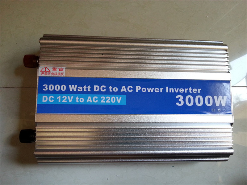 цена на 3000W-3,Modified Sine Wave power inverter 3000w peak 6000W DC12V to AC 220V dc ac car Power Inverter,Body size:340mm*205mm*80mm