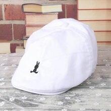 c046c2a7132c7 Perimedes de verano de los niños sombreros de béisbol niños bebé niño  sGirls suave de rayas de algodón gorra de boina de vendedo.