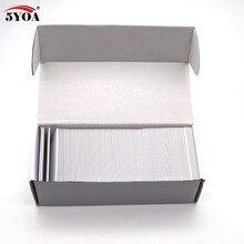 50 ชิ้น EM4305 T5577 หนา Blank Card 1.8 มิลลิเมตร RFID Chip 125 กิโลเฮิร์ตซ์สำเนา Rewritable Writable Rewrite Duplicate 125 กิโลเฮิร์ตซ์