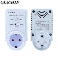 QIACHIP AC 110 250V EU Plug Smart Plug GSM Smart Socket SMS Commands Remote Control SIM