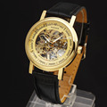 Winner Fashion Brand Casual Man Male Clock Military Business Skeleton Hand Wind Mechanical Sport Luxury Wrist Dress Watch 8291