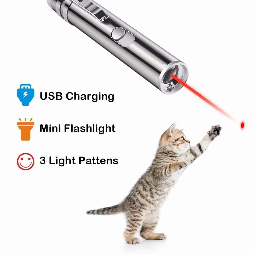 USB נטענת 3 ב 1 מיני אדום לייזר מצביע לייזר עט פנס טעינה UV לפיד ציד לייזר Sighter משולב מנורה