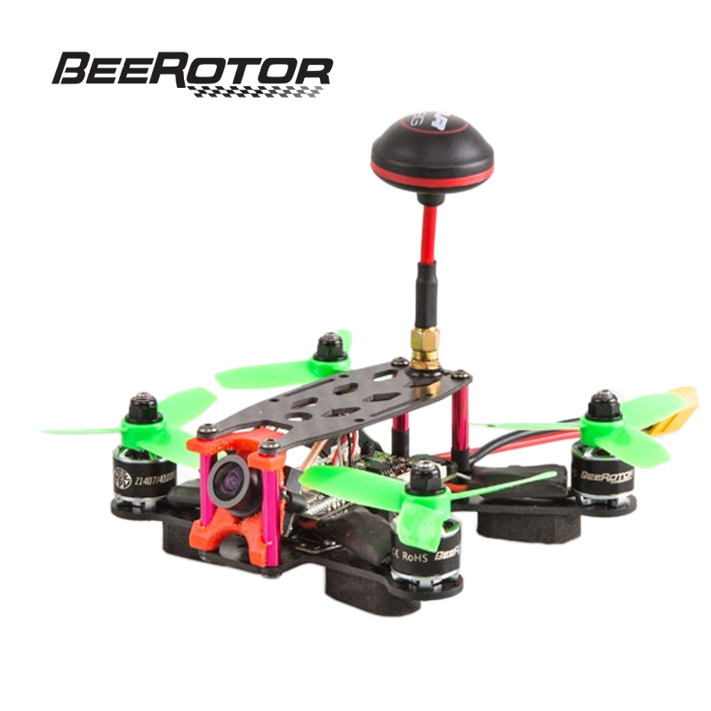 BeeRotor Ultra 130 FPV Racing Mini Quadcopter ARF Combo Set Camera Drone Frame Kit BR130-U01