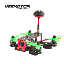 BeeRotor Ultra 130 Racing Mini Quadcopter ARF FPV Combo Cámara Drone Kit Marco BR130-U01