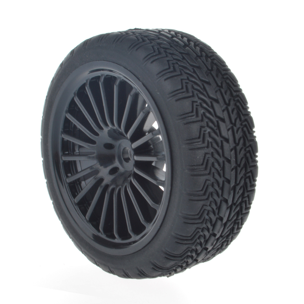 Online Shop 4 Pcs Rc 1 10 Car Tires Flat Drift Car Tyres Bbs Wheel