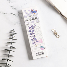 30 Pcs/lot happy things Paper Bookmark Stationery  Promotional Gift Bookmarks Office Accessories School Supplies 1 pcs boxed colorful feather glass ball bookmark paper animals bookmark book school office supplies stationery
