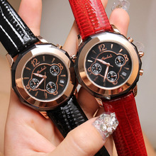 Luxury brand Mashali fashion women business watch auto date leather quartz watch waterproof clock relogio masculino