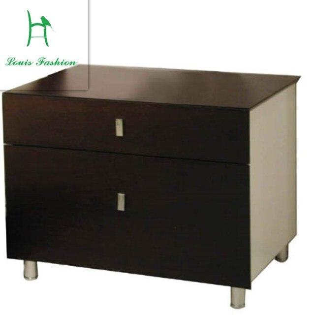 € 113.83 |Contemporain et contracté petite table de chevet tiroir armoires  mode plaque bord arche de la tête d\'un lit table CP1B chambre dans Supports  ...