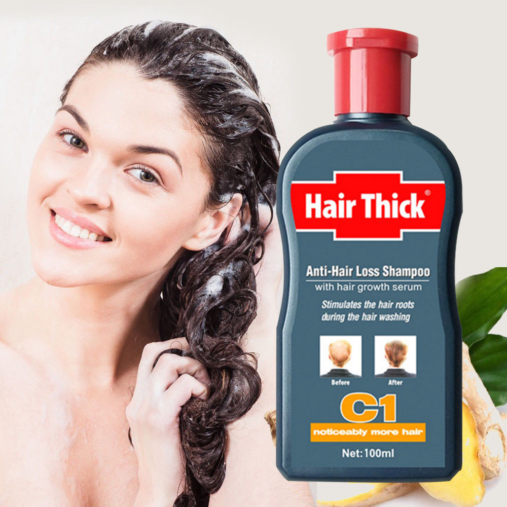 Anti-hair Loss Liquid Fast Hair Essence Repair Damaged Rough Increase Ginger Shampoo