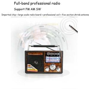Image 3 - JINSERTA FM/AM/SW Retro radyo dünya bandı alıcı MP3 oynatıcı el feneri ile kayıt fonksiyonu destek TF kart U Disk oynatma