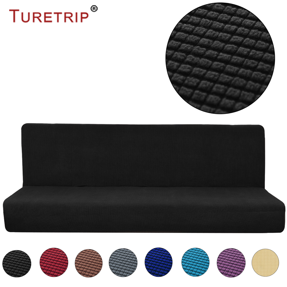 Fabulous Us 34 99 Turetrip Armless Sofa Cover Stretch Sofa Bed Slipcover Protector Non Slip Settee Folding Couch Sofa Shield Funda Futon Covers In Sofa Cover Download Free Architecture Designs Scobabritishbridgeorg