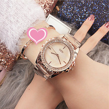 Dropshipping New 2019 Hot Selling  Shining Diamond Elegant Women Quartz Watch Water Casual Luxury Designer Ladies